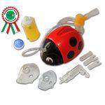 FLAEM NUOVA Лелла Божья Коровка (Lella) Компрессорный небулайзер для детей