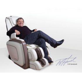 US MEDICA Cardio массажное кресло бежевое
